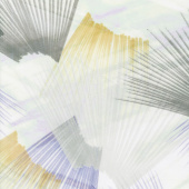 """Plume - Feather Texture Light Neutral Digitally Printed 108"""" Wide Backing"""