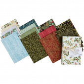 Festive Chickadee Fat Quarter Bundle