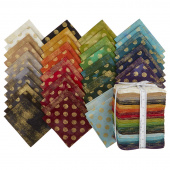 Grunge Metallics Fat Quarter Bundle