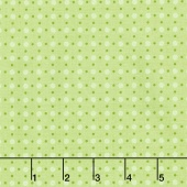 Bee Basics - Polka Dot Green Yardage