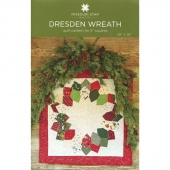 Dresden Wreath Wall Hanging Pattern by MSQC