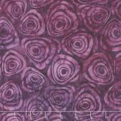 Tonga Batiks - Orchid Swirls Purple Yardage