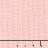 Soft & Sweet - Pink Loopsy Doopsy Light Pink Flannel Yardage