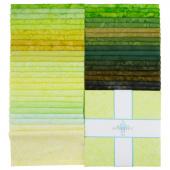 """Lava Batik Solids - Isle 10"""" Squares"""