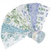 """Watercolor Hydrangeas 2.5"""" Strips"""