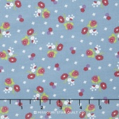 Anne of Green Gables - Anne Blossoms Blue Yardage