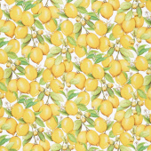 Down on the Farm - Lemons Multi Digitally Printed Yardage