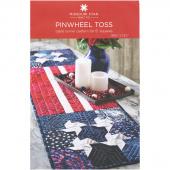 Pinwheel Toss Table Runner Pattern by Missouri Star
