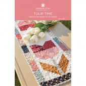 Tulip Time Table Runner Pattern by Missouri Star
