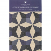 Stretched Periwinkle Quilt Pattern by Missouri Star