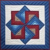 Starspin Wall Quilt Kit