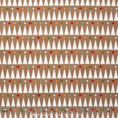 Party Animals - Party Stripe Taupe Yardage