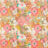 Nuncia - Flowers Everywhere Caress Pink Yardage