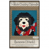 Havanese Black Precut Fused Appliqué Pack