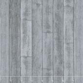 Thistle Hill - Barn Wood Charcoal Yardage