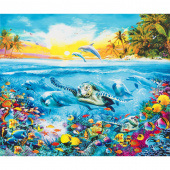 Picture This - Sealife Adventure Digitally Printed Panel