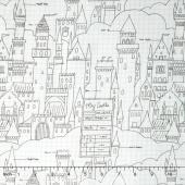 Magic - Castle Plans White Yardage
