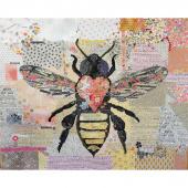 Honey Bee Collage Pattern