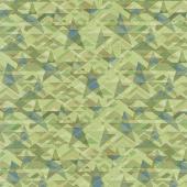 Scrap Happy - Star Mosaic Light Green Yardage