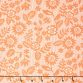 Sugar Pie - Lace Garden Orange Yardage