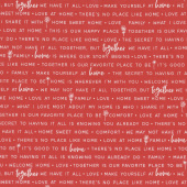 Make Yourself at Home - Home Phrases Red Yardage