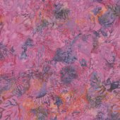 Tonga Batiks - Orchid Disco Lotus Yardage