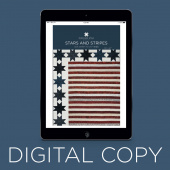 Digital Download - Stars and Stripes Quilt Pattern by Missouri Star