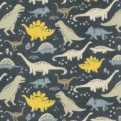 Designer Flannel - Fossil Rim Main In Color Navy Yardage