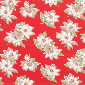 At Home with Bonnie and Camille - Sunday Stroll Red Canvas Yardage