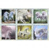 Unicorns - Unicorn Squares Multi Panel