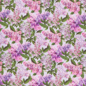 Chelsea - Lilacs Blue Purple Yardage