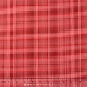 Neighborhood - Plaid Red Yardage