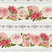 Le Bouquet - Repeating Stripe Multi Yardage