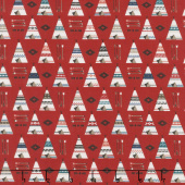 High Adventure 2 - Teepee Red Yardage