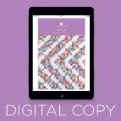 Digital Download - 4 x 4 Quilt Pattern by MSQC