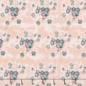 Abbie - Floral Pink Yardage