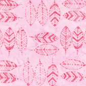 Salt Water Taffy Batiks - Feathers Lipstick Yardage