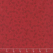 Wilmington Essentials - Red Carpet Sprouts Red on Red Yardage