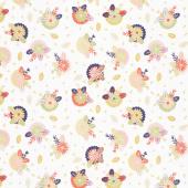 Sew Retro - Posie Cream Yardage