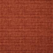 Woolies II Flannel - Houndstooth Orange Yardage