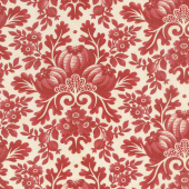 Cinnaberry - Damask Vanilla Cranberry Yardage