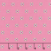 Simply Happy - Honeycomb Pink Yardage