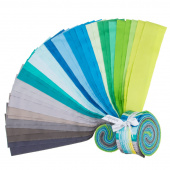 "Cotton Couture Lagoon 2.5"" Strips"