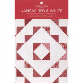 Kansas Red & White Quilt Pattern by Missouri Star