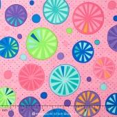 Rainy Day - Umbrella Tops Umbrella Pink Yardage