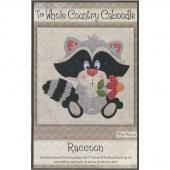 Raccoon Precut Appliqué Pack