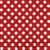Kimberbell Basics - Dots Red Yardage
