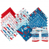Fireworks & Freedom Fat Quarter Bundle