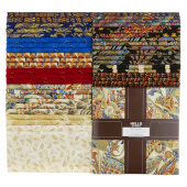 Treasures of Alexandria Multi Metallic Ten Squares