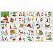 My ABC Book - Alphabet Vintage Panel